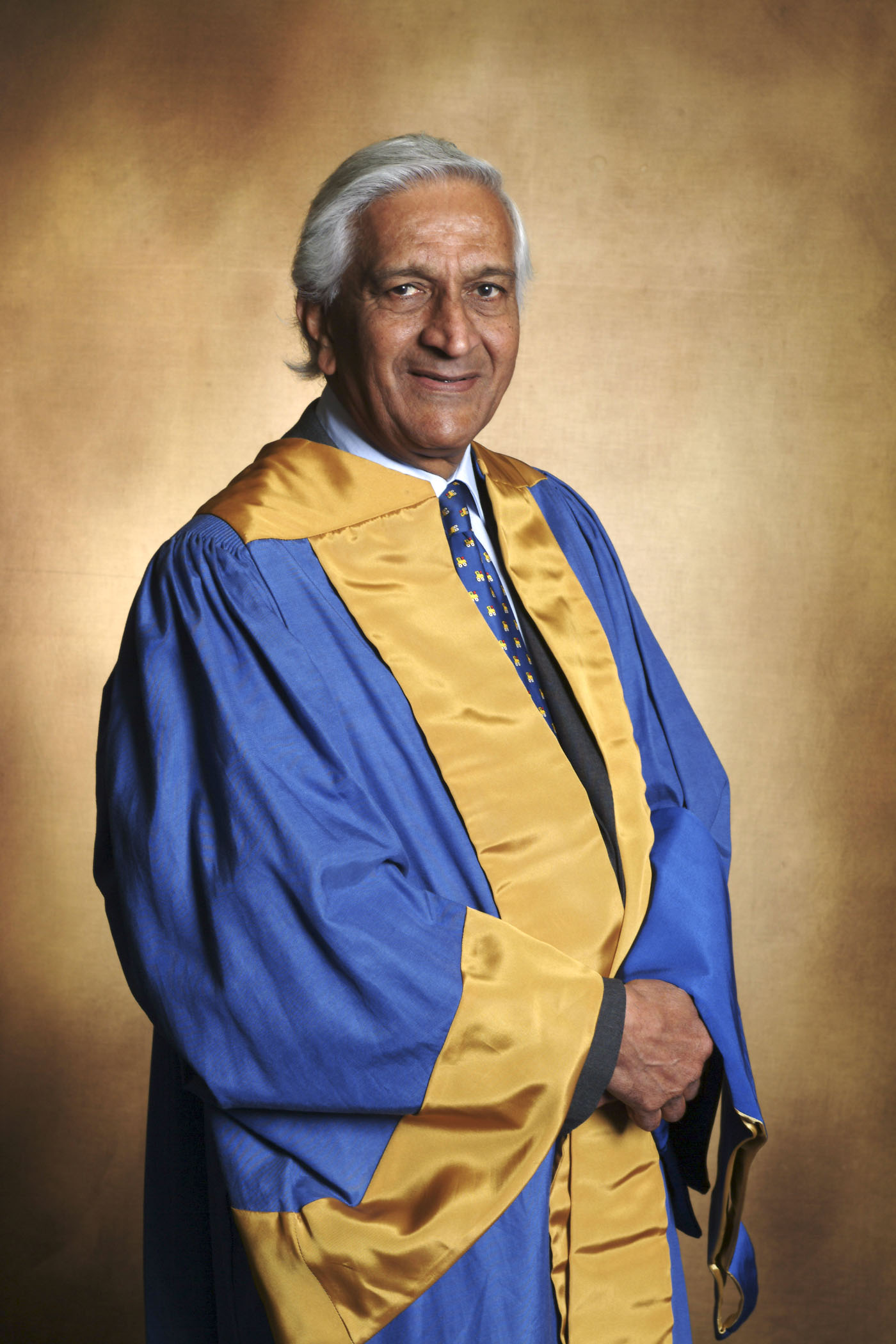 a photo of the Lord Patel, the new chancellor