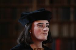 a photo of the facial reconstruction of Richard III